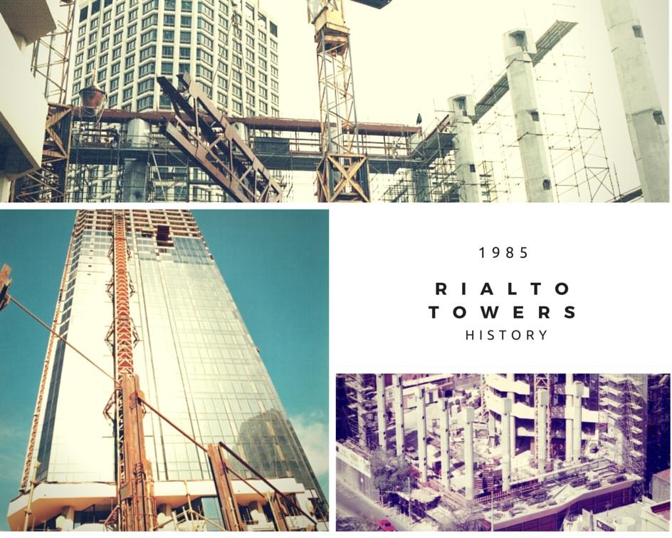 Rialto Towers History